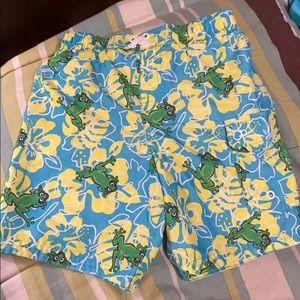 Toddler Boys Swim Trunks. EUC